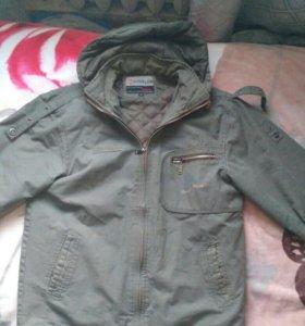 Куртка осенняя, теплая куртка
