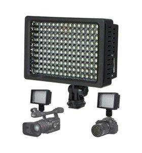 Накамерный видеосвет LED HD-160