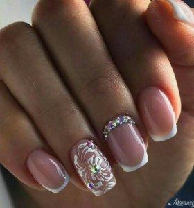 Стану моделью на наращивание ногтей 💕