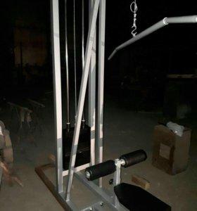 Тренажер вертикальной тяги