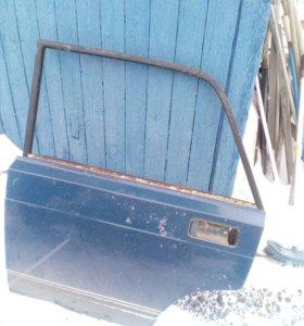 Задние двери на ВАЗ 2107