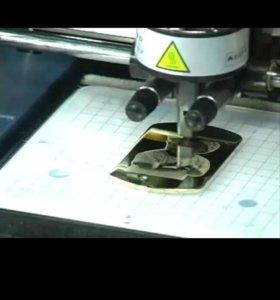 Ударный фотопринтер по металлу