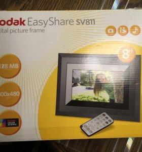 Цифровая фоторамка Kodak Easy Share sv811