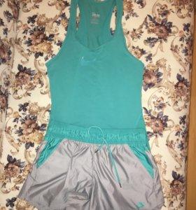 Спортивный костюм Nike (шорты, майка)