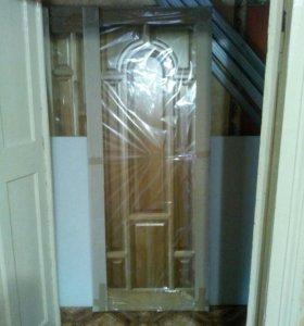 Дверное полотно(натуральное дерево)