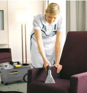 Химчистка мягкой мебели, матрасов, на дому