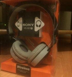 Bluetooth наушники sony