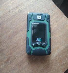 неубиваемый смартфон ленд ровер х9 флип