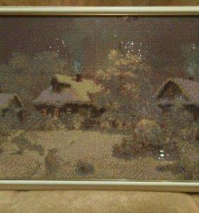 Картина из алмазной вышивки