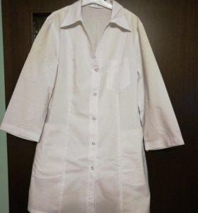 Медицинский женский халат 44 размера