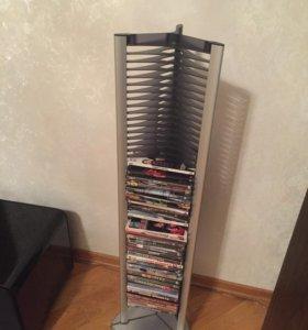 Подставка для dvd дисков