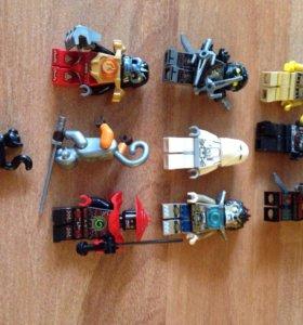 Минифигурки LEGO 10 шт.