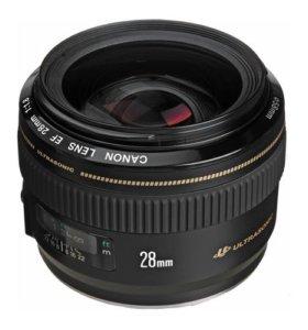 Объектив Canon EF 28 1.8 USM.