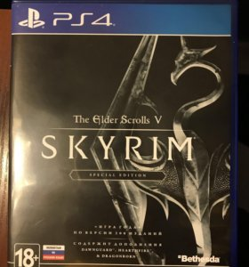 The Elder Scrolls V Skyrim Special Edition для PS4