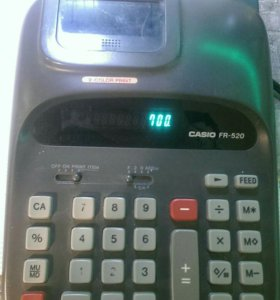 Калькулятор печатающий.