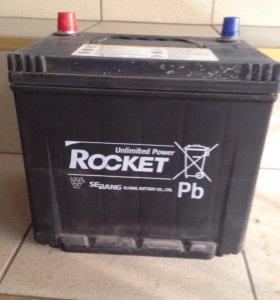 Аккумулятор Erginex 62Ah и Rocket 60Ah