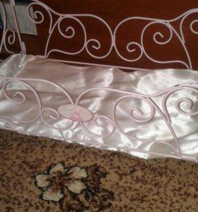 Железная кровать для кукол