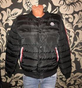 Куртка бомбер пуховик новый
