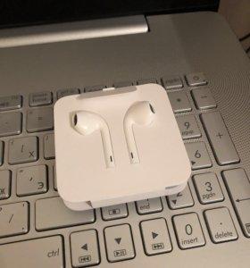 Наушники Apple EarPods новые оригинальные