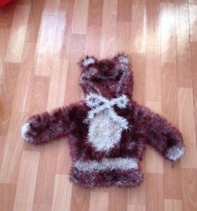 Свитер-кофта-Мишка