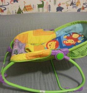 Шезлонг детский качалка гамак