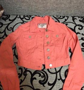 Джинсовая куртка, юбка