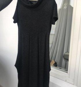Платье тонкая шерсть 44 размер