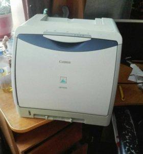 Цветной лазерный принтер canon lbp 5000