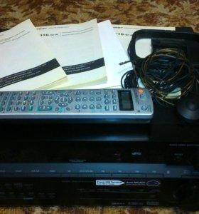 Ресивер Pioneer VSX-916+DVD плеер Pioneer DV-490V