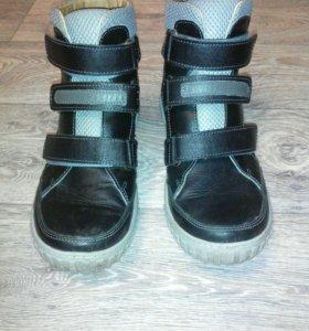 Ортопедические весение ботинки.