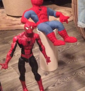 Коллекционный человек паук на шарнирах