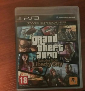 Игра Grand theft auto Episodes From L. S. на PS3