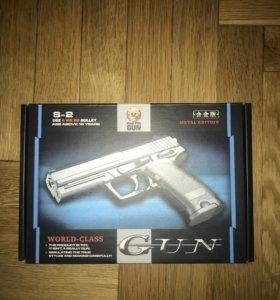 Пистолет на пулях