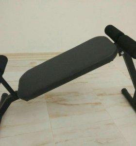 Скамья 2в1 для пресса и спины - гиперэкстензия