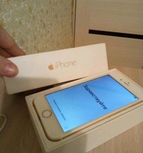 IPhone 6 золотой на 16 GB