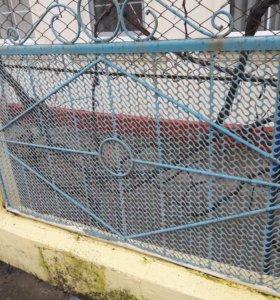 Заборные секции + ворота