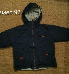 Двухстороняя ветровка куртка р.92