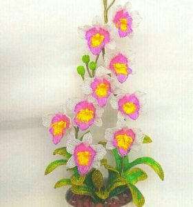 Орхидея готовая работа