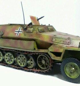 Модель немецкого бтр