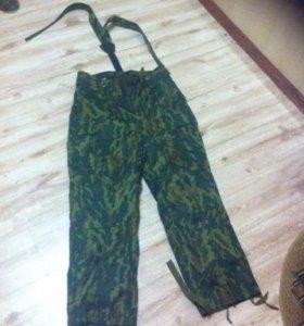 штаны ватные армейские