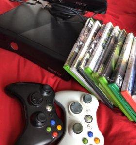 Игровая консоль Xbox 360 + киннект
