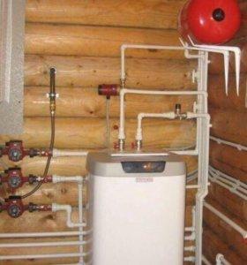 Отопление , водопровод , канализация