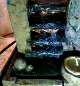 Мини фонтан