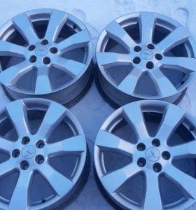 Оригинальные литые диски Mitsubishi R18 Outlander