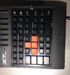 Игровая мини-клавиатура A4tech x7