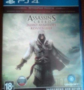 Assassins Creed Ezio Collection на ps 4