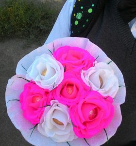 Букеты из цветов.