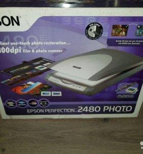 Сканер epson 2480
