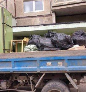 Вывоз мусора (разнарабочии)