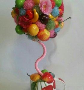 Топиарий фруктовый